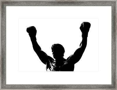 Rocky Framed Print by Benjamin Yeager