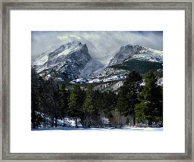 Rocky Mountains Framed Print by Jim Hill