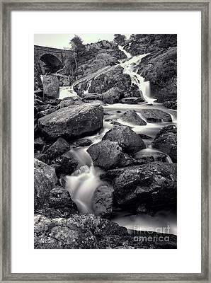 Rocky Stream Framed Print by Adrian Evans