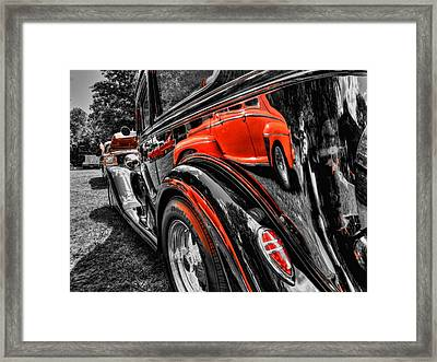 Rod Reflections Framed Print by Lance Vaughn