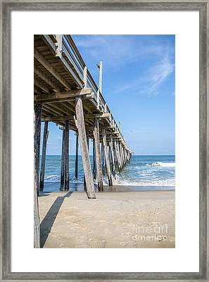 Rodanthe Pier Framed Print by Kay Pickens