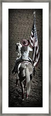 Rodeo America Framed Print by Stephen Stookey