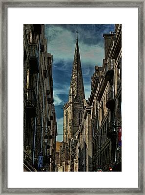 Cathedrale Saint-vincent-de-saragosse De Saint-malo Framed Print by Tom Prendergast