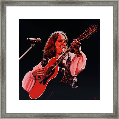 Roger Hodgson Of Supertramp Framed Print by Paul Meijering