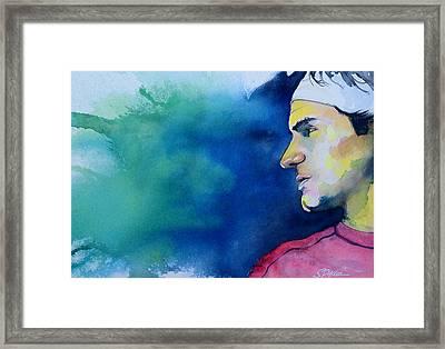 Roger Framed Print by Scott  Parker