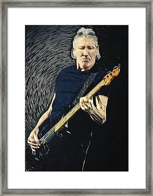 Roger Waters Framed Print by Taylan Soyturk
