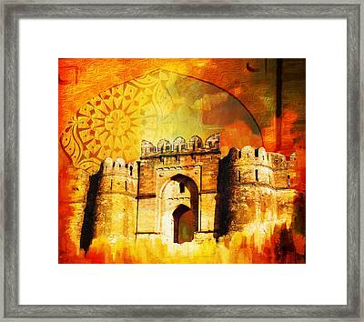 Rohtas Fort 00 Framed Print by Catf