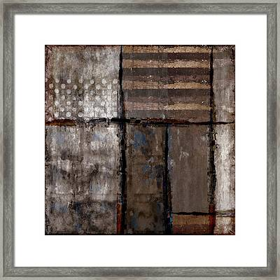 Roll Away The Stone Framed Print by Carol Leigh