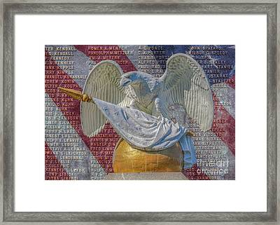 Roll Of Honor Framed Print by Randy Steele