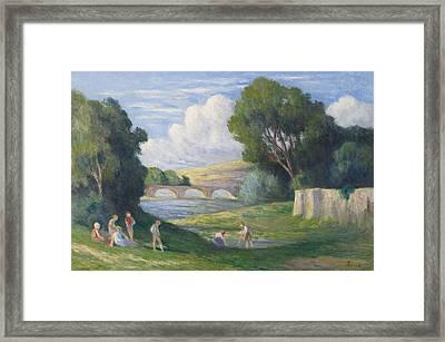 Rolleboise Framed Print by Celestial Images