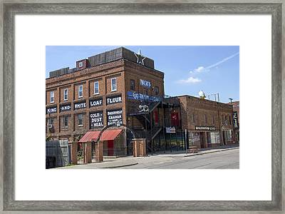 Roller Mills Framed Print by Pat Cook