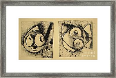 Rollie1 And Rollie 2  Archived Framed Print by Charlie Spear