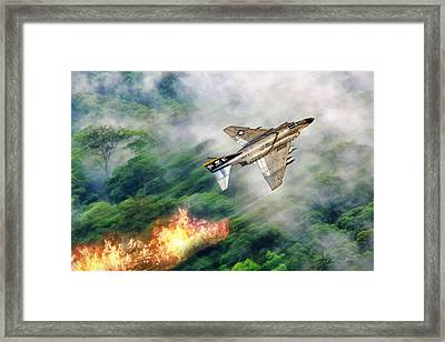 Rollin Bones Framed Print by Peter Chilelli