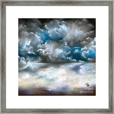 Rolling In Framed Print by Maria Schaefers