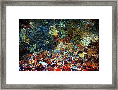 Rolling In The Deep Framed Print by Deena Stoddard