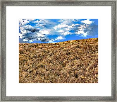 Rolling Framed Print by Maria Schaefers