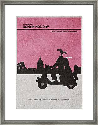 Roman Holiday Framed Print by Ayse Deniz