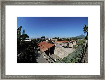 Roman Ruins Framed Print by Pasquale Sorrentino