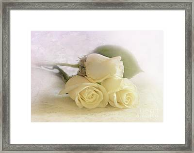 Romance Framed Print by Betty LaRue