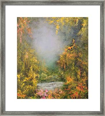 Romance Framed Print by Hannibal Mane