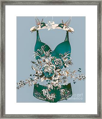Romance In The Air Framed Print by Eleni Mac Synodinos