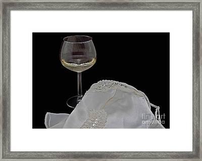 Romance Framed Print by Valerie Garner
