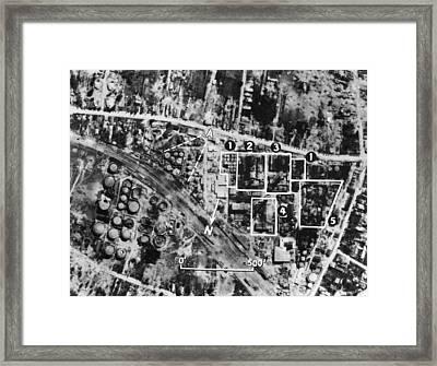 Romania: Oil Refinery Framed Print by Granger