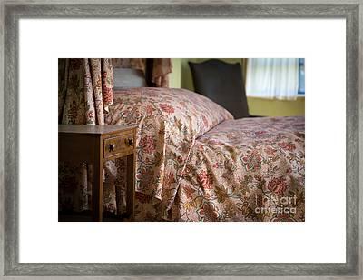 Romantic Bedroom Framed Print by Edward Fielding