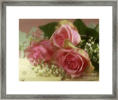 Romantic Moments From A Victorian Era Past Framed Print by Inspired Nature Photography Fine Art Photography