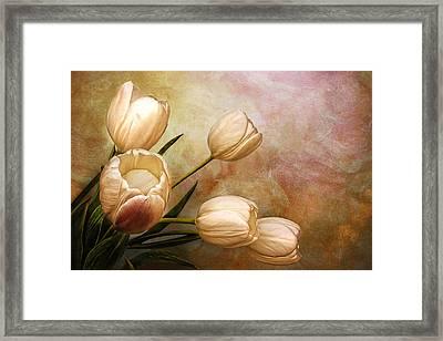 Romantic Spring Framed Print by Claudia Moeckel