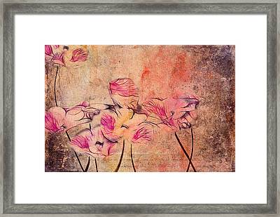 Romantiquite - 44bt22 Framed Print by Variance Collections