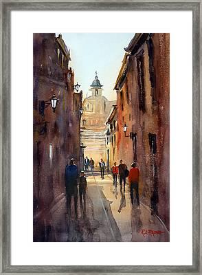 Rome Framed Print by Ryan Radke
