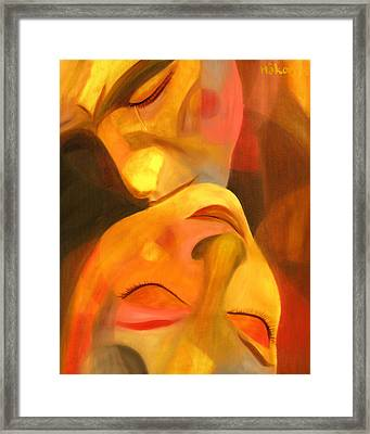 Romeo And Juliet Framed Print by Hakon Soreide