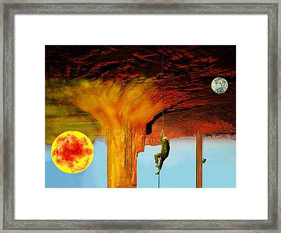 Roof Of The World Framed Print by Bruce Iorio