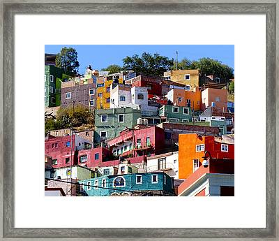 Rooms With Views Framed Print by Douglas J Fisher