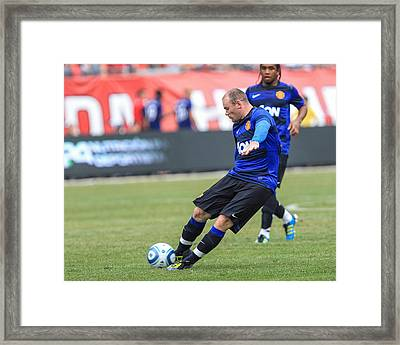 Rooney 2 Framed Print by Keith R Crowley