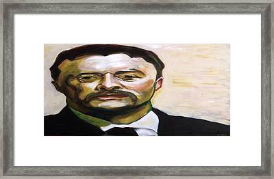 Roosevelt Framed Print by Buffalo Bonker