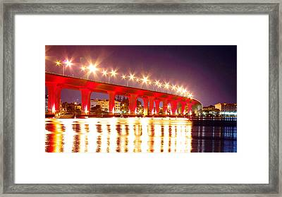 Roosevelt Red Framed Print by Don Youngclaus