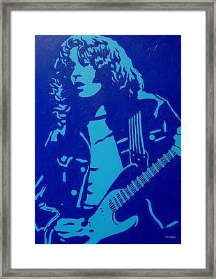 Rory Gallagher Framed Print by John  Nolan