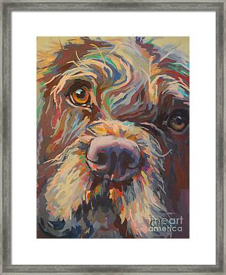 Rory Framed Print by Kimberly Santini