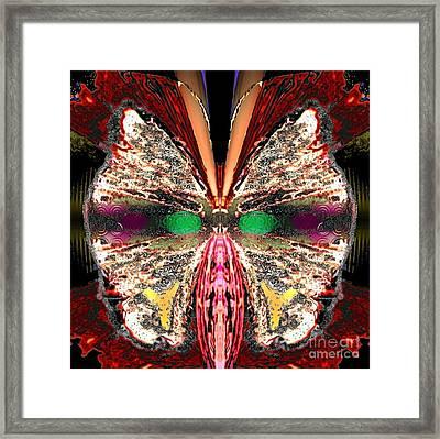 Rosa Cozyplume Framed Print by Raymel Garcia