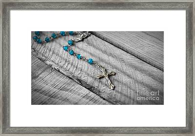 Rosary Framed Print by Aged Pixel