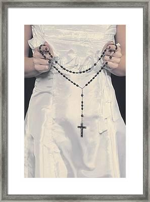 Rosary Framed Print by Joana Kruse