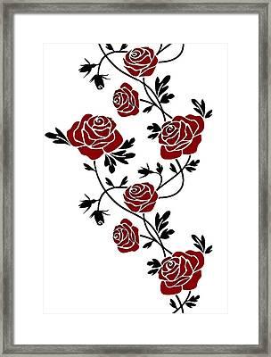 Rosas  Framed Print by Riccardo Zullian