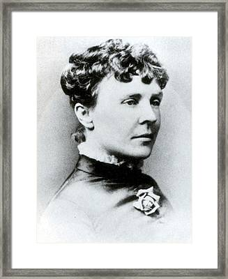 Rose Cleveland, First Lady Framed Print by Science Source