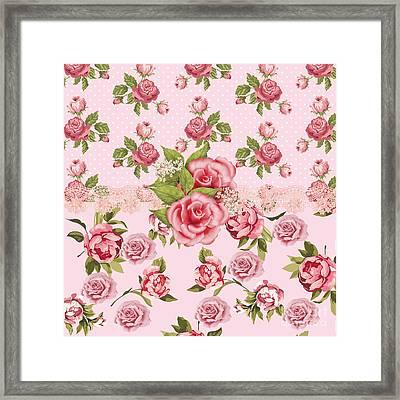 Rose Elegance Framed Print by Debra  Miller