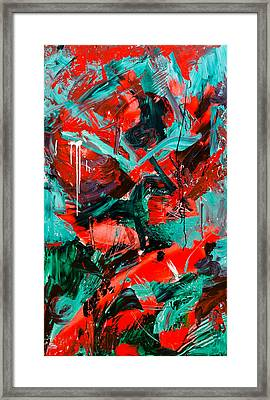 Rose Framed Print by Maria  Lankina