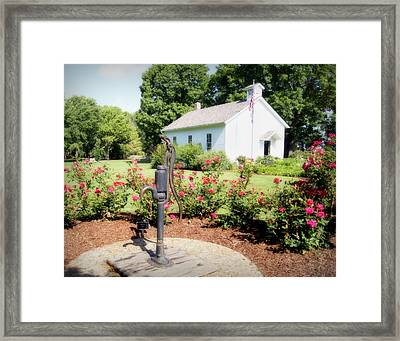 Roses Are Red Framed Print by Cricket Hackmann