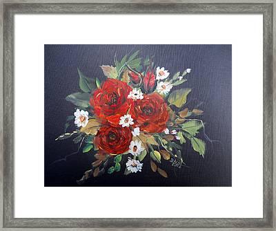 Roses Framed Print by Dorothy Maier