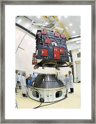 Rosetta Spacecraft Engineering Model Framed Print by Esa/cnes / Service Optique Csg